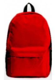 cartable en nylon rouge