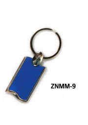 Porte clé métal ZNMM-9