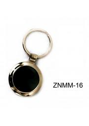 Porte clé metal rond ZNMM-16