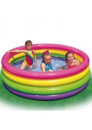 piscine gonflable arc en ciel 61x22cm