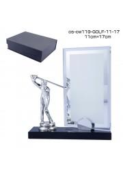 trophée cristal avec statue de GOLF D20171107-36
