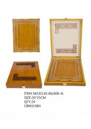 trophée plaque bois D130-86