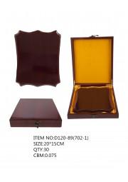 trophée plaque en bois D130-88