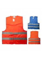 Gilet fluorescent Bleu orange D1025-44