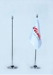 Support drapeau plastique avec 40CM 1 tige d3842