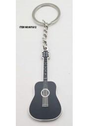 Porte clés métal guitare