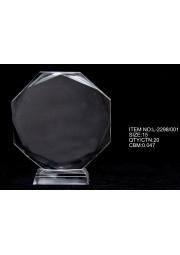 Trophée en cristal